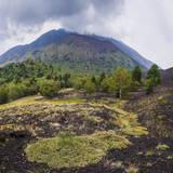 Mount Etna Volcano Photographic Print by Matthew Williams-Ellis