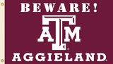 NCAA Texas A&M Aggies Country Flag with Grommets Flag