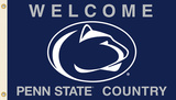 NCAA Penn State Nittany Lions Country Flag with Grommets Flag