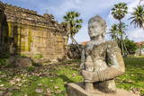 The Temple of Wat (Phnom) Nokor Photographic Print by Michael Nolan