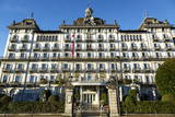Grand Hotel Des Iles Borromees, Stresa, Lake Maggiore, Piedmont, Italy, Europe Photographic Print by Yadid Levy