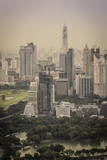 Bangkok Skyline, Including Baiyoke Tower Ii (304M) and Lumphini Park, Bangkok, Thailand Photographic Print by Andrew Taylor