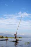 Intha Fishermen, Inle Lake, Nyaungshwe, Shan State, Eastern Myanmar (Burma), Asia Photographic Print by Lynn Gail