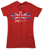 Juniors: Jay Sean - Union Jack T-shirts
