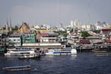 Chao Phraya River, Bangkok, Thailand, Southeast Asia, Asia Photographic Print by Andrew Taylor
