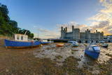 Caernarfon Castle, UNESCO World Heritage Site, Caernarfon, Gwynedd, Wales, United Kingdom, Europe Stampa fotografica di Alan Copson