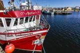 Fishing Vessels Inside the Harbor at Bonavista, Newfoundland, Canada, North America Photographic Print by Michael Nolan