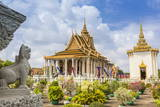 Stupa in Front of the Silver Pagoda in the Royal Palace Photographic Print by Michael Nolan
