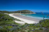 Long Wide Sandy Beach in the Wilsons Promontory National Park, Victoria, Australia, Pacific Photographic Print by Michael Runkel