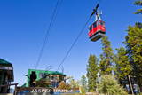 Red Gondola Car Photographic Print by Neale Clark