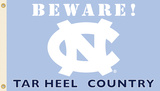 NCAA North Carolina Tar Heels Country Flag with Grommets Flag