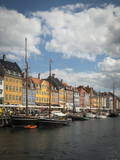Nyhavn Harbour, Copenhagen, Denmark, Scandinavia, Europe Photographic Print by Ben Pipe