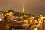 The View from Pont Alexandre Iii Along the River Seine, Paris, France, Europe Photographic Print by Julian Elliott