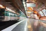 The Paris Metro Station of Arts Et Metiers, Paris, France, Europe Photographic Print by Julian Elliott