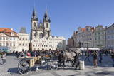 Horse Carriage at the Old Town Square (Staromestske Namesti) Photographic Print by Markus Lange