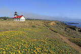 Point Cabrillo Lighthouse, Mendocino County, California, United States of America, North America Photographic Print by Richard Cummins