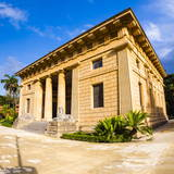 School of Botany Building at Palermo Botanical Gardens (Orto Botanico) Photographic Print by Matthew Williams-Ellis