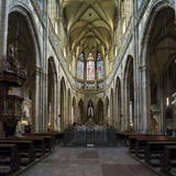 St. Vitus Cathedral, Prague, Czech Republic, Europe Photographic Print by Ben Pipe