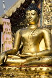 The Buddha Statue at Wat Phra Singh Is Blessed Photographic Print by Andrew Taylor