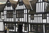 The 15th Century Half-Timbered Black Swan Public House Photographic Print by Peter Richardson