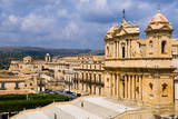 Elevated View of Noto Cathedral (St. Nicholas Cathedral) Photographic Print by Matthew Williams-Ellis