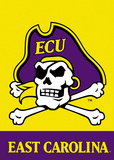 NCAA East Carolina Pirates 2-Sided Garden Flag Flag