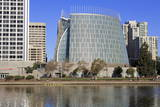 Cathedral of Christ the Light and Lake Merritt Photographic Print by Richard Cummins