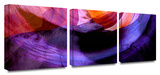 Canyon Echoes 3-Piece Canvas Set Posters by Dean Uhlinger