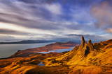 The Old Man of Storr at Dawn Sunrise Photographic Print by Neale Clark