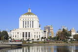 Alameda County Court House and Lake Merritt Photographic Print by Richard Cummins