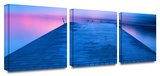 Waiting for Dawn 3-Piece Canvas Set Gallery Wrapped Canvas Set by Steve Ainsworth