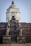 Fasidega Temple, Durbar Square, Bhaktapur, UNESCO World Heritage Site, Nepal, Asia Photographic Print by Andrew Taylor