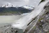 Nugget Falls at Mendenhall Glacier, Juneau, Alaska, United States of America, North America Photographic Print by Richard Cummins