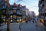 Bridge Street at Christmas, Chester, Cheshire, England, United Kingdom, Europe Photographic Print by Frank Fell
