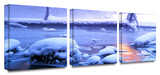 Artist light 3-Piece Canvas Set Gallery Wrapped Canvas Set by Dean Uhlinger