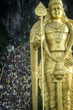 Devotees Climb the Steps to Batu Caves Photographic Print by Andrew Taylor