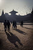 Durbar Square, Bhaktapur, UNESCO World Heritage Site, Nepal, Asia Photographic Print by Andrew Taylor