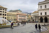 De Ferrari Square, Genoa, Liguria, Italy, Europe Photographic Print by Yadid Levy