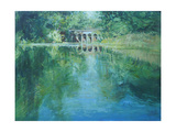 Viaduct Hampstead Heath Giclee Print by John Erskine