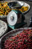 Chillies, Pak Khlong Market, Bangkok, Thailand, Southeast Asia, Asia Photographic Print by Andrew Taylor