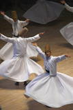 Whirling Dervishes at the Dervishes Festival, Konya, Central Anatolia, Turkey, Asia Minor, Eurasia Reproduction photographique par Bruno Morandi