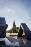 Phra Mahathat Naphamethanidon, Doi Inthanon National Park, Thailand, Southeast Asia, Asia Photographic Print by Andrew Taylor