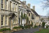 Cotswold Cottages Along the Hill, Burford, Cotswolds, Oxfordshire, England, United Kingdom, Europe Photographic Print by Peter Richardson