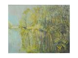 Lake Near Nieuwleusen Giclee Print by John Erskine