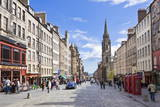 The High Street in Edinburgh Old Town Photographic Print by Neale Clark