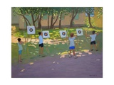 Archery Practise, France Giclee Print by Andrew Macara