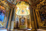 Chapel, Royal Summer Palace of Queluz, Lisbon, Portugal, Europe Photographic Print by G and M Therin-Weise
