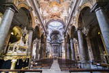 Interior of the Church of San Matteo, (Chiesa Di San Matteo), Palermo, Sicily, Italy, Europe Photographic Print by Matthew Williams-Ellis