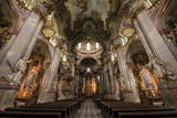 St. Nicholas Church Interior, Prague, Czech Republic, Europe Photographic Print by Ben Pipe