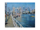 Tower Bridge Giclee Print by John Erskine